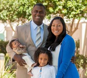 Abram & Erica Thomas Family